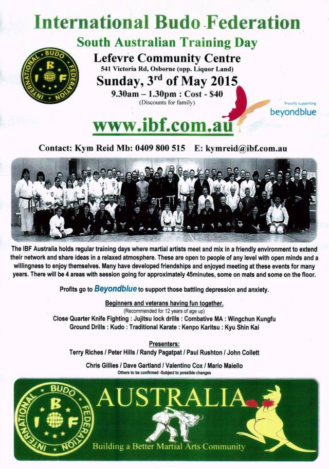 IBF May 3 2015